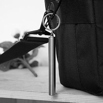 Pocket waterproof titanium alloy toothpick holder outdoor traveling toos1