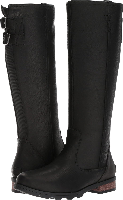 Sorel Emelie Tall Premium Black 10.5