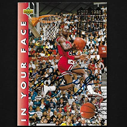 2e654dd9c1d Image Unavailable. Image not available for. Color: Upper Deck Michael  Jordan Autograph ...