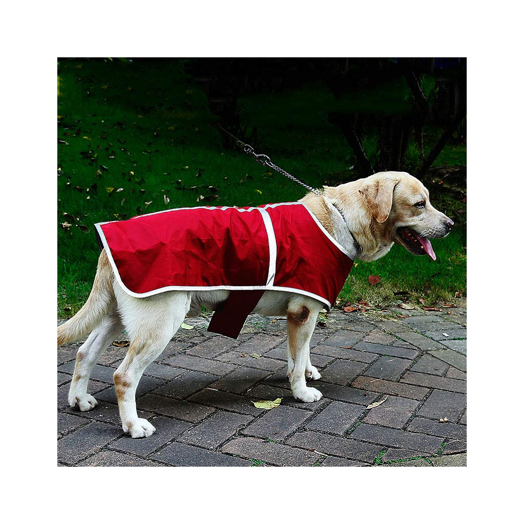3XL Pet Travel Bag DoubleFaced pet Clothes, rainProof Dog, Winter Clothing, Warm Plaid Jacket, Vest (Size   3XL)