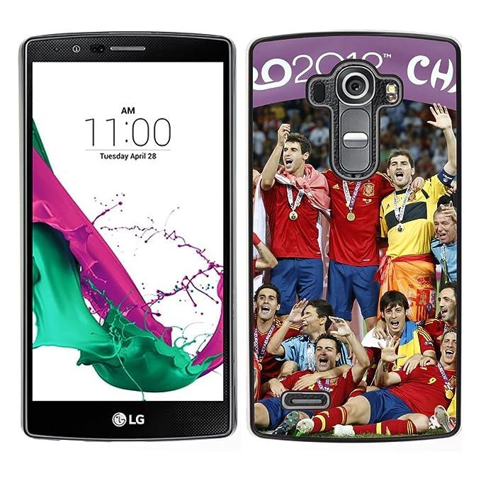 LauStart (fútbol soccer Star) LG G4 colorido impreso duro ...
