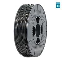 ICE FILAMENTS ICEFIL1PLA003 PLA Filament, 1.75 mm, 0.75 kg, Brave Black