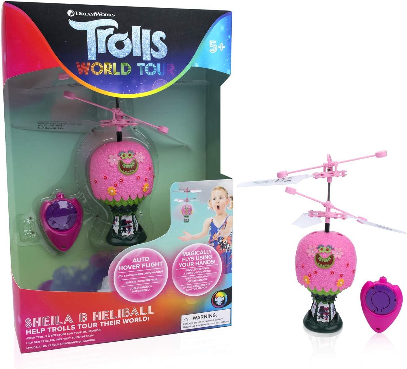 WOW! STUFF Trolls World Tour Princess Poppy Hot Air Balloon Shelia B Remote Controlled Mini Flying Ball 64% OFF £8.38 @ Amazon