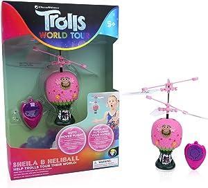 WOW! Stuff Collection Trolls World Tour Princess Poppy Hot Air Balloon Shelia B Remote Controlled Mini Flying Ball