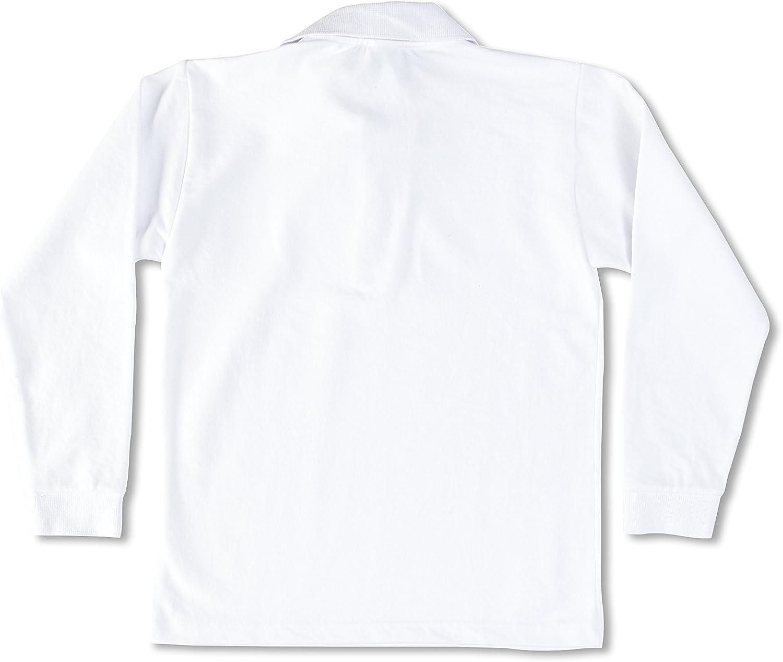 Uniformes De Colegio Polo Blanco 14 años (162 cm): Amazon.es: Ropa ...