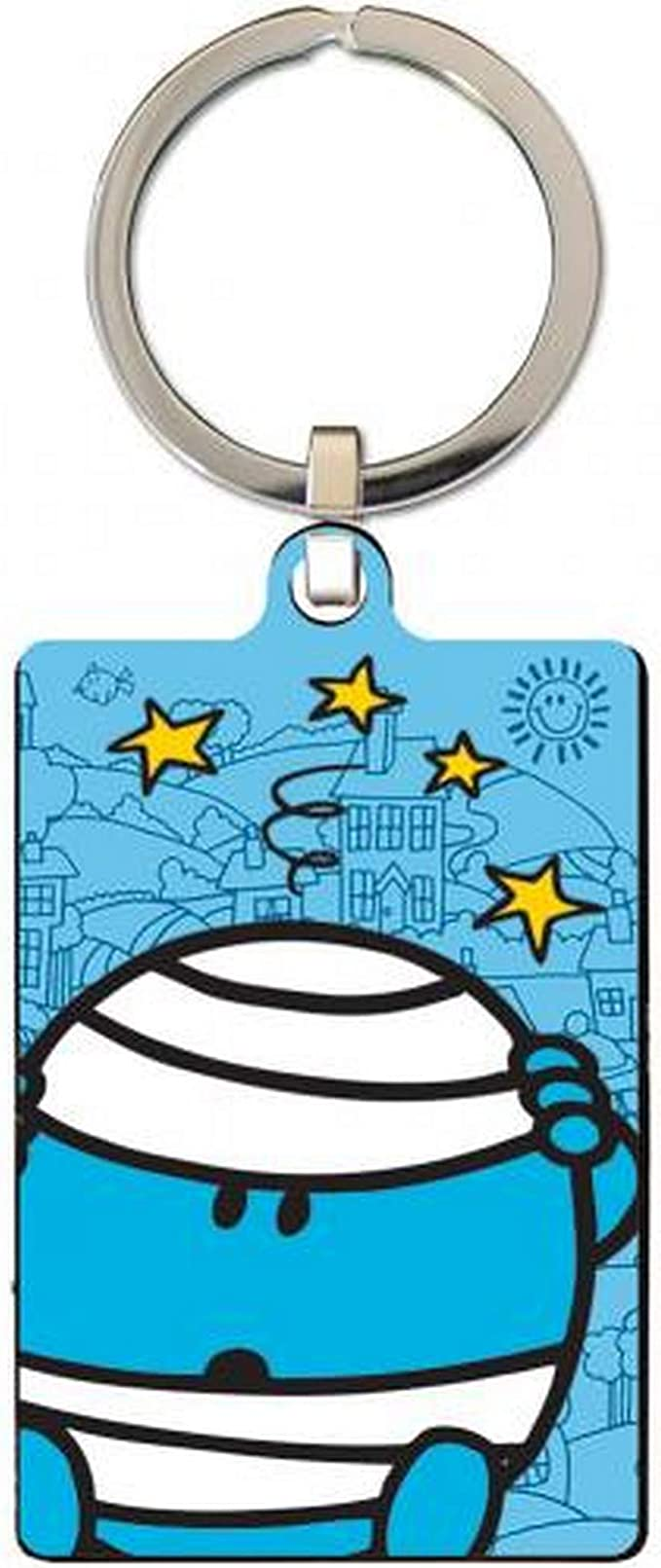 Mr Bump Metal Keyring   OFFICIAL PRODUCT