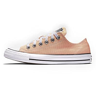 4135878edd70e6 Image Unavailable. Image not available for. Color  Converse Unisex Chuck  Taylor All Star Low Top Sunset Glow Sneakers ...