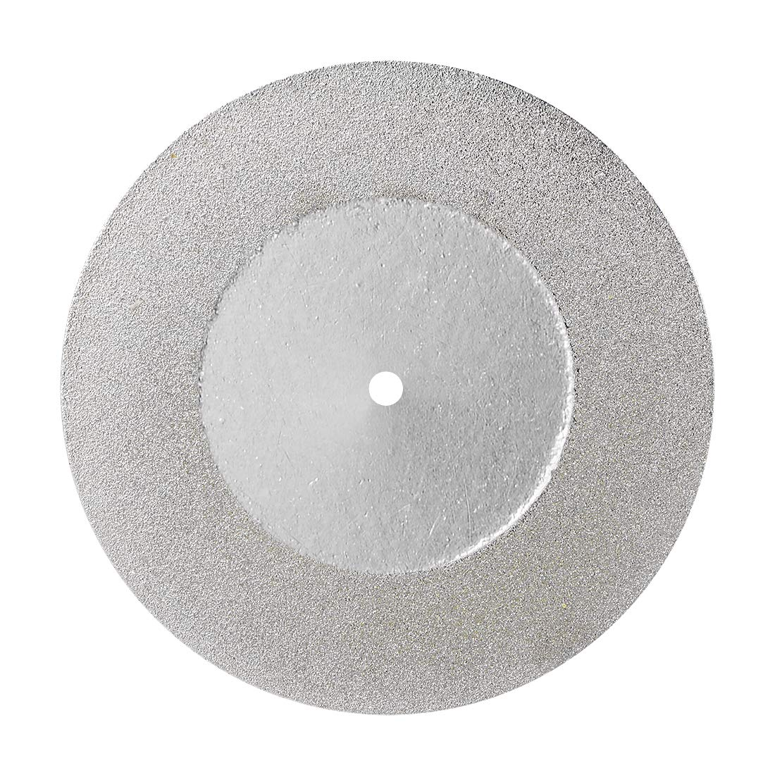 uxcell Cut-Off Wheels Diamond Coated Cutting Discs for Rotary Tools 60mm