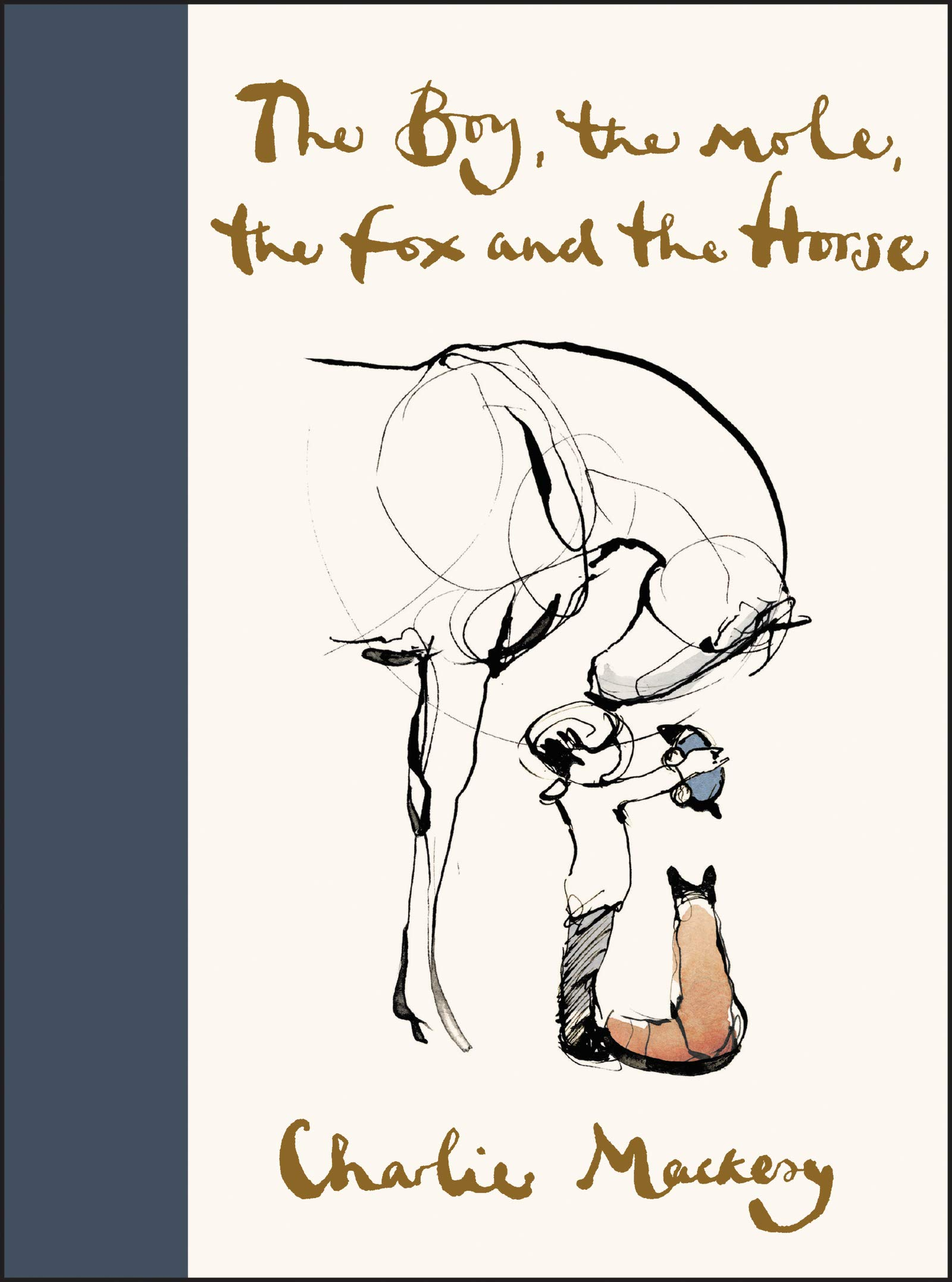 The Boy, the Mole, the Fox and the Horse: Mackesy, Charlie: 9780062976581:  Amazon.com: Books