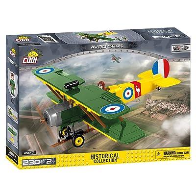 Small Army Avro 504K Building Blocks Set: Toys & Games