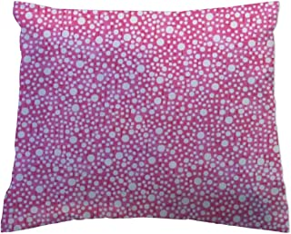 product image for SheetWorld Crib Toddler Pillow Case, 100% Cotton Woven, Confetti Dots Pink, 13 x 17, Made in USA