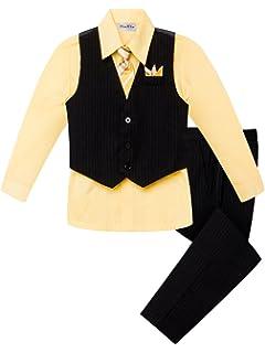 Amazon.com: Juego de ropa para niños de 2 a 7 años de edad ...