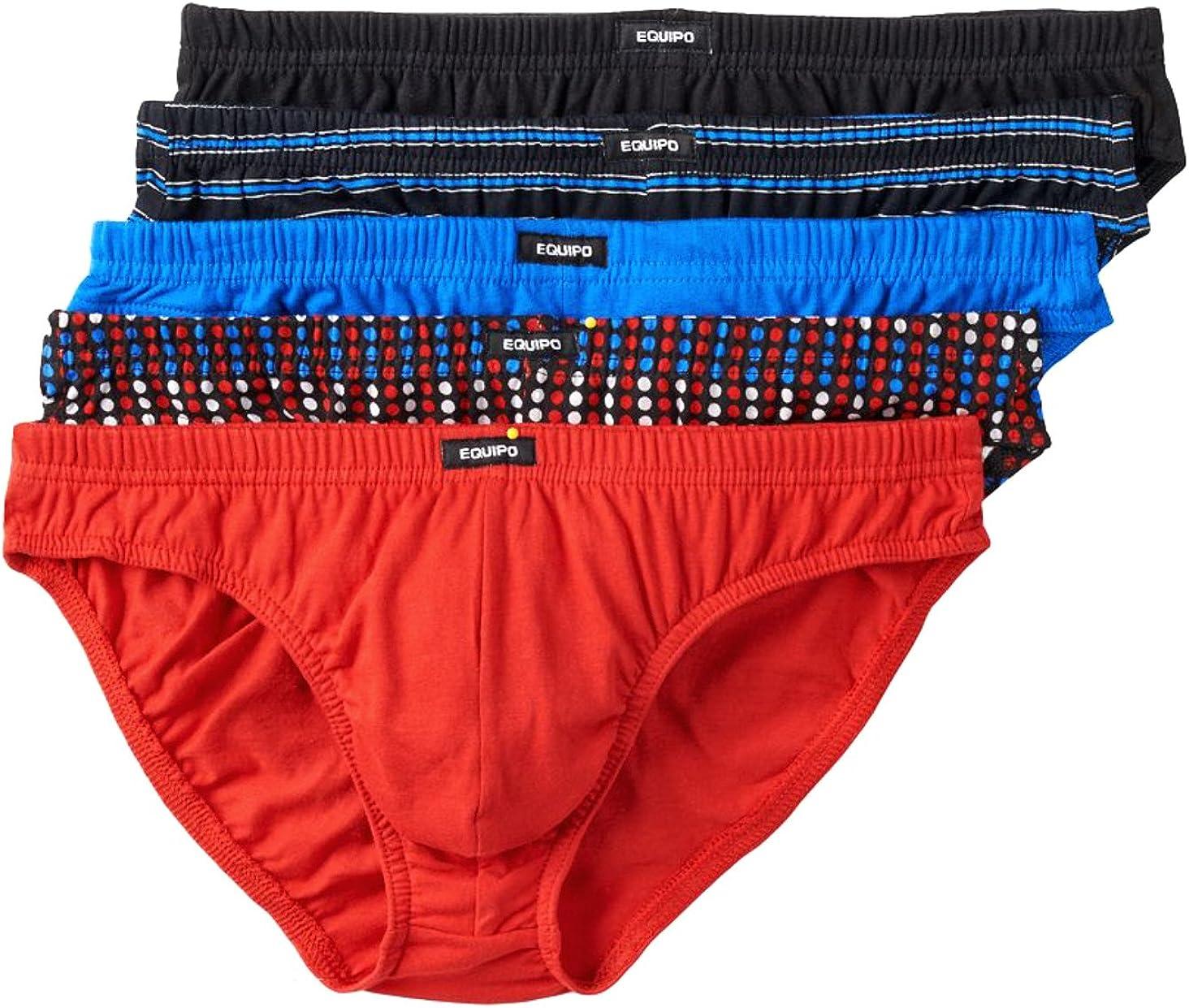 Men`s equipo bikinis briefs underwear 5-pk Medium at Amazon Men's Clothing  store