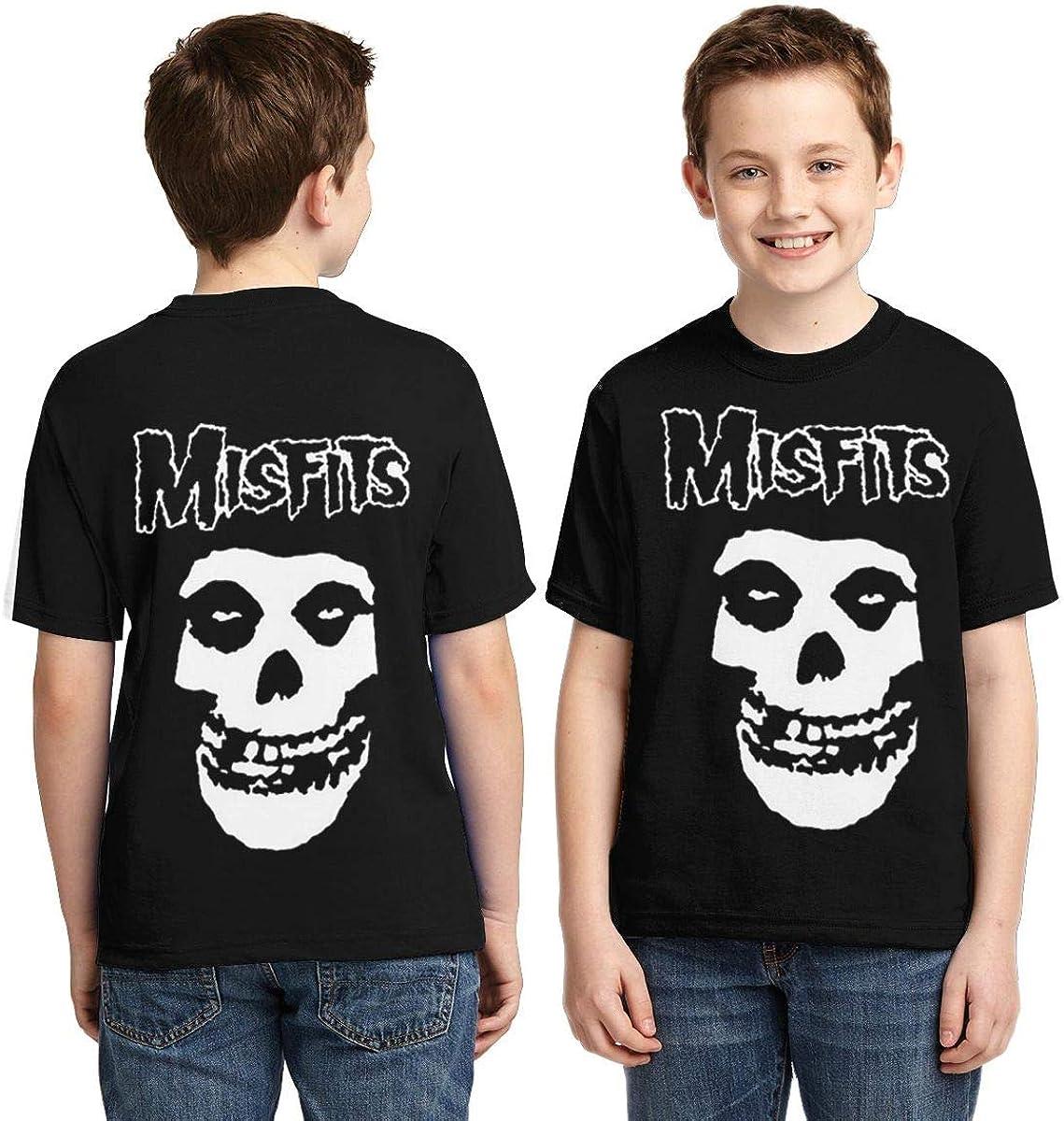 Xshuhua Boys,Girls,Youth Misfits T Shirt