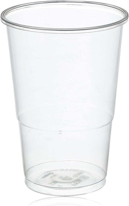 Mical Vaso Transparente plástico 330cc, 100 Unidades