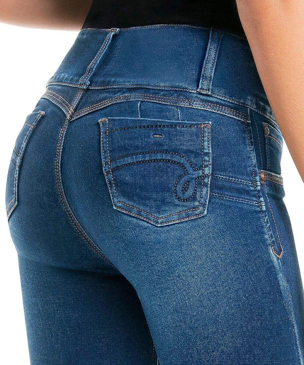 Levanta Cola VIRTUAL SENSUALITY CYSM Alona Stretch Womens Push Up Jeans Colombian Butt Lift