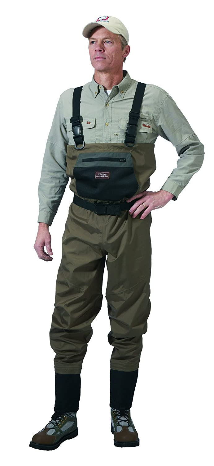Caddis Men's Taupe Affordable Breathable Stocking Foot Wader