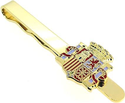 Gemelolandia Pasador de Corbata del Escudo de la II República Española: Amazon.es: Ropa y accesorios