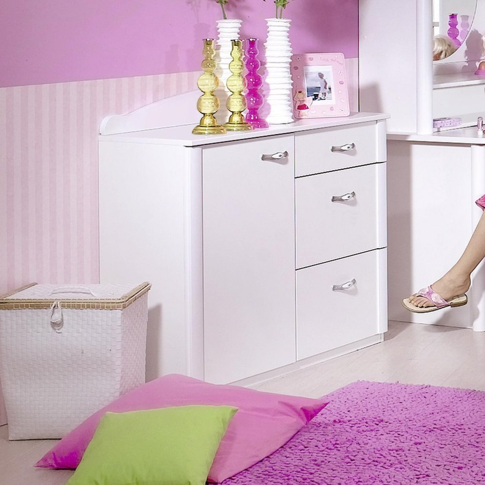 Rauch Kinderzimmer Jugendzimmer Lilly 7-tlg. Komplett Set in weiss ...