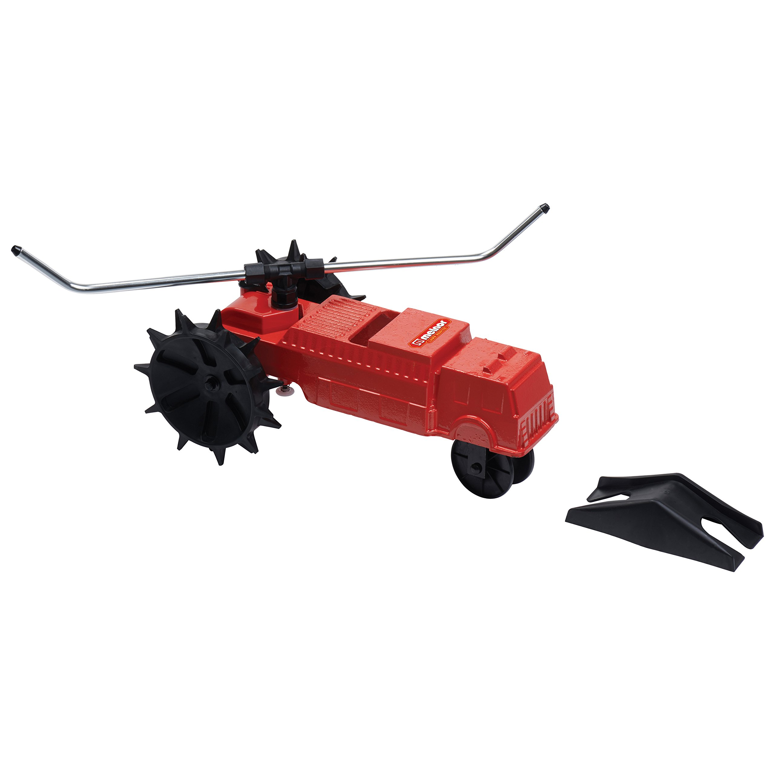 Melnor 4501 Traveling Sprinkler Lawn Rescue - 13,500 sq. ft. Coverage Variable Speed Control with Adjustable Spray Arms
