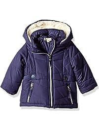 da85c3c9b Jessica Simpson Baby Girls Satin Bubble Jacket