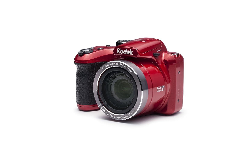 Kodak PIXPRO AZ365 Cámara Puente 16.15MP 4608 x 3456Pixeles Rojo - Cámara Digital (16,15 MP, 4608 x 3456 Pixeles, 36x, HD, 436 g, Rojo)