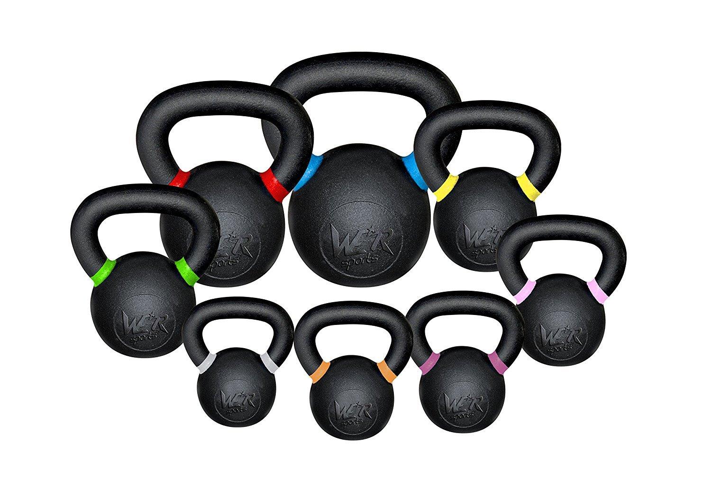 We R Sports Premium Kettlebells 4kg to 48kg Home Gym Fitness Exercise Kettlebell Training