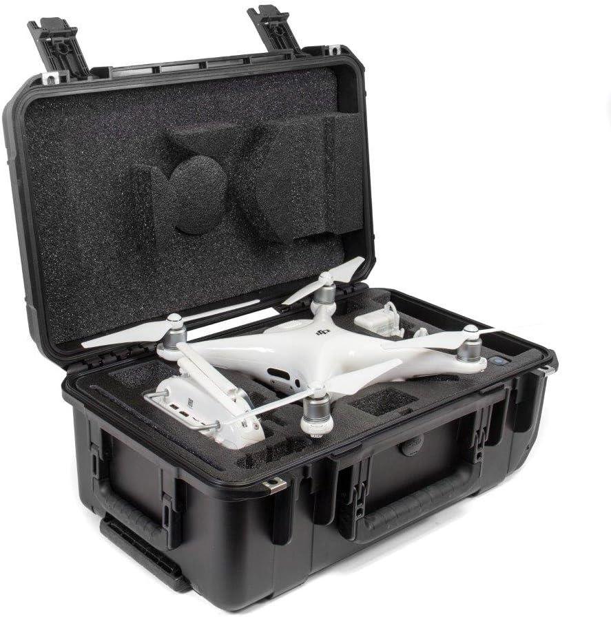 Black CasePro CP-PHAN4-PRO-CO Carry-On Hard DJI Phantom 4 Pro Case
