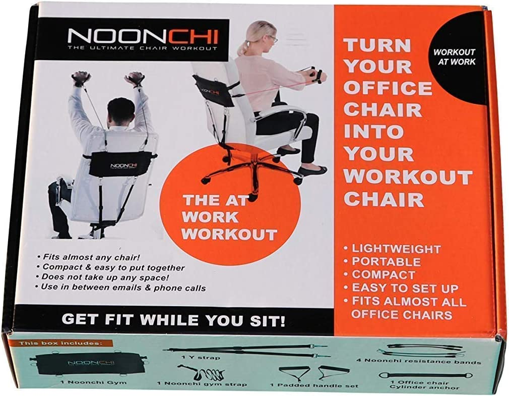 Noonchi Office Chair Workout V1 Attaches To Your Office Chair Amazon Ca Sports Outdoors