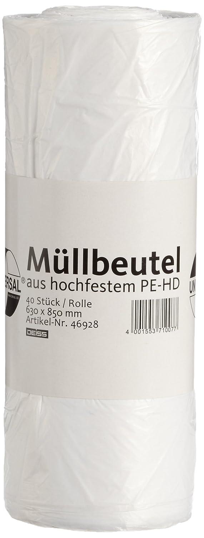 Müllbeutel DEISS UNIVERSAL PLUS 80 L, 40-er Pack EMIL DEISS KG 46928
