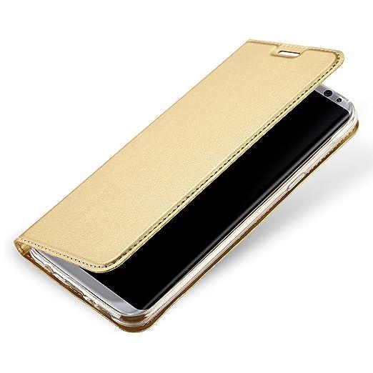 57 opinioni per Cover Samsung Galaxy S8 Custodia Slim Libro Design Wallet Caso Luxury Pelle
