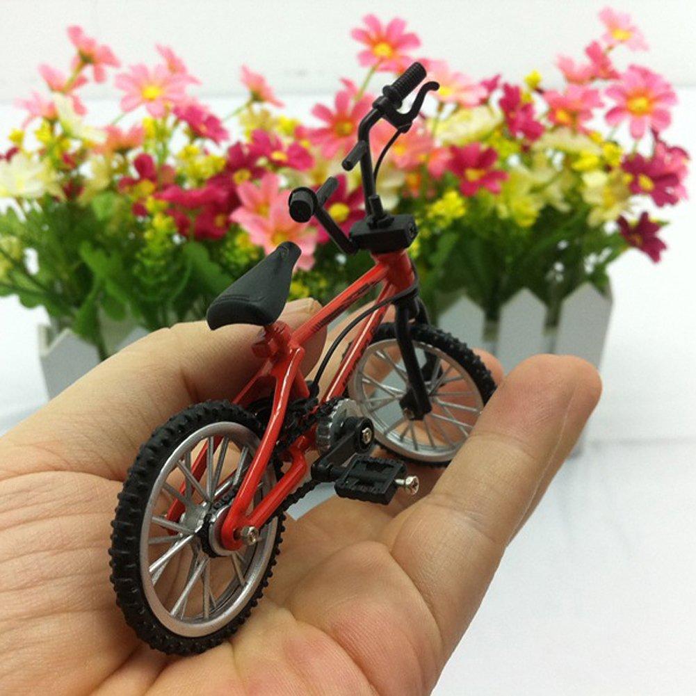 Vktech/® Functional Finger Mountain Bike BMX Fixie Bicycle Boy Toy Creative Game Toy
