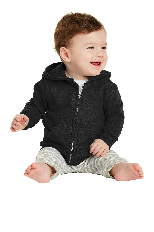 Precious Cargo® Infant Full-Zip Hooded Sweatshirt. CAR78IZH Jet Black 18M