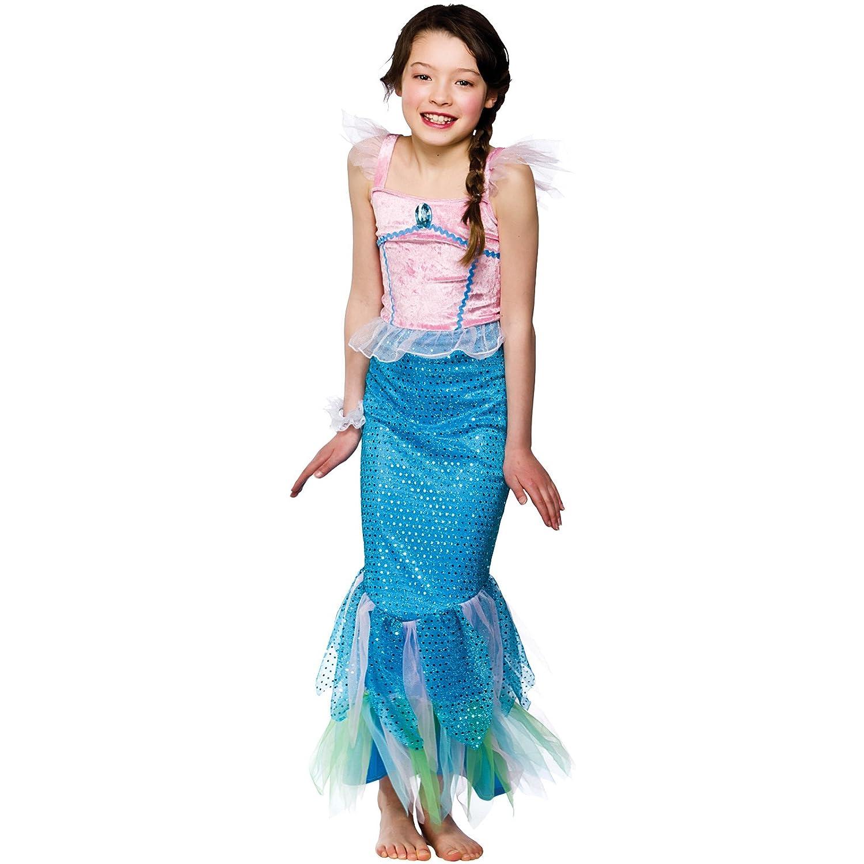 girls mystical mermaid costume fancy dress up party halloween