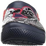 Crocs Unisex FunLab SW Dark Side Clog K, Navy, 2 M