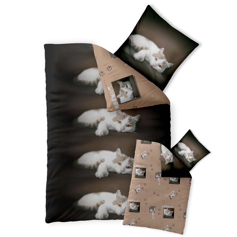 Katzen Bettwsche. Fabulous Bettwsche Kissen Fr Couch Cartoon Affe ...