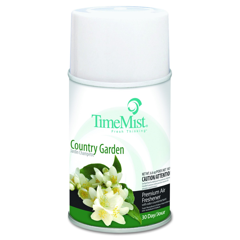 TimeMist 2522 Country Garden Premium Refill for Metered Air Freshener (Case of 12)