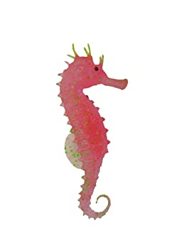Digiflex Rosa Caballito de Mar Adorno para Acuario Pecera: Amazon.es: Productos para mascotas