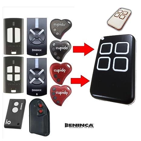 0a7ebe4b4b1 Md7 telecomando per garage compatibile universale BENINCA TO.GO, T2WV,  Cupido 2,