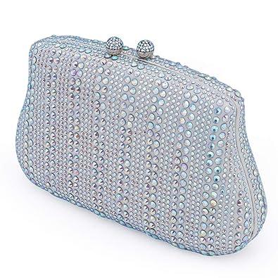 71e367fd55 Rhinestone Clutch Purse Evening Bags For Women - Crystal Party Bridal Clutch  Wedding Purses Cocktail Handbag