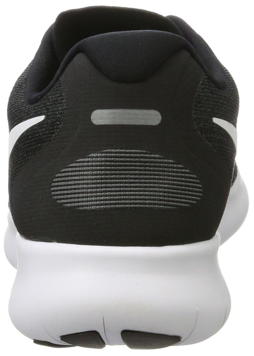 Nike Men's Free RN 2017 Running Shoe Black/White/Dark Grey/Anthracite Size 7.5 M US by Nike (Image #2)