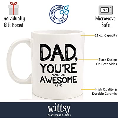 Father/'s Day Gift Ideas Dad Coffee Mug Cups For Men Birthday Presents Any Man