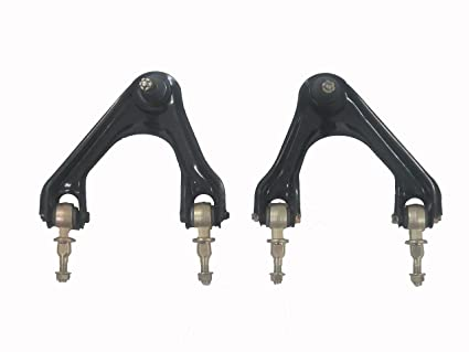 2 Front Upper Control Arms With Ball Joints