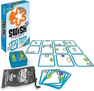 Thinkfun Swish Junior - Juego de Mesa (Contenido en inglés ...
