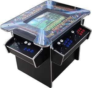 US-Way e.K. G-70 Arcade - Mesa de cóctel, máquina de vídeo para TV, máquina de juegos automática, 1293 juegos Jamma Games Machine: Amazon.es: Hogar