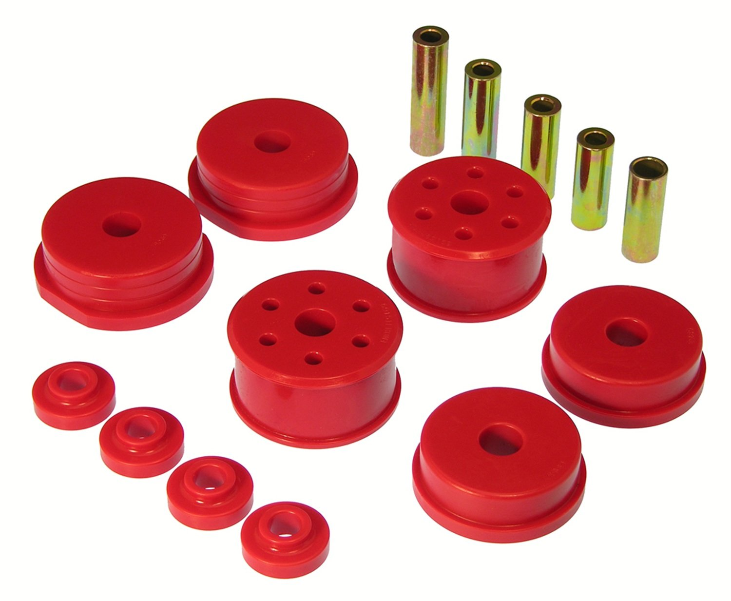 Prothane 13-1903 Red Motor and Transmission Mount Insert Kit by Prothane