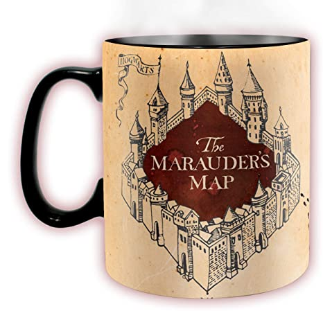 d92925aa08c ABYstyle -Harry Potter - Heat Change Mug - 460 ml - Marauder: Amazon.co.uk:  Kitchen & Home