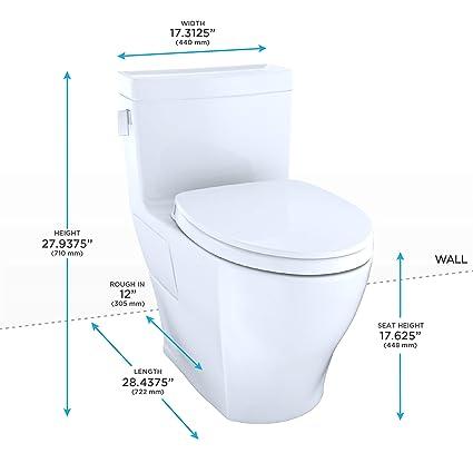 Swell Toto Ms624124Cef51 Legato Washlet Elongated 1 28 Gpf Machost Co Dining Chair Design Ideas Machostcouk