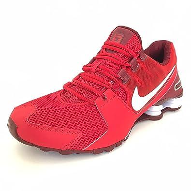 Amazon.com | Nike Men's Shox Avenue PRM University Red/White/-Team Red Running  Shoes | Road Running