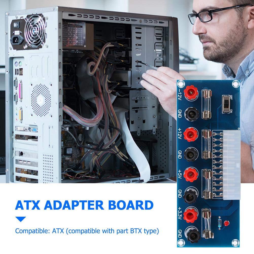 Asiproperuk XH-M229 Desktop Chassis Power Supply ATX Transfer Board Terminal Module unidad de fuente de alimentación: Amazon.es: Industria, empresas y ciencia